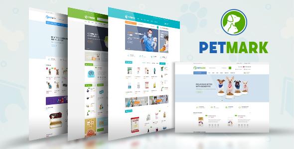قالب PetMark - قالب وردپرس فروشگاهی