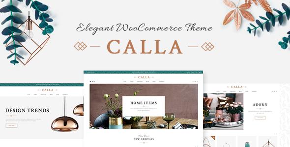 قالب Calla - قالب فروشگاه آنلاین