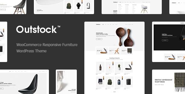 Outstock - قالب فروشگاه مبل وردپرس