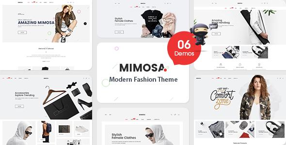 قالب VG Mimosa - قالب وردپرس فروشگاه مد