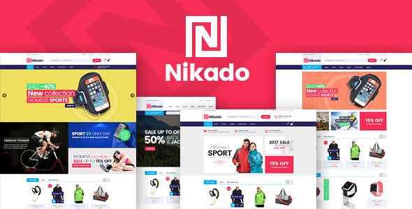 Nikado - قالب وردپرس فروشگاه ووکامرس
