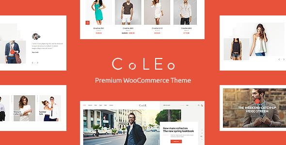 قالب Coleo - قالب وردپرس فروشگاه مد لباس