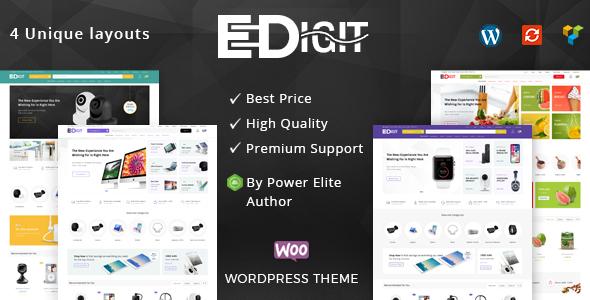 eDigit - قالب ووکامرس چند منظوره