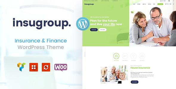 قالب Insugroup - قالب سایت شرکت بیمه و مالی
