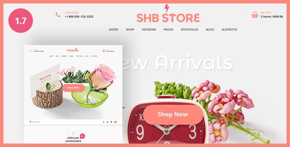 قالب SHB ( Spa, Health & Beauty) - قالب وردپرس ساده و ریسپانسیو