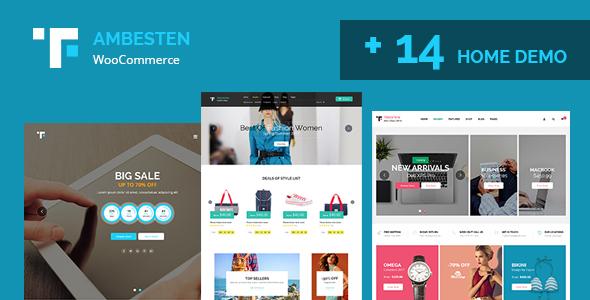 آمبستن   Ambesten - قالب وردپرس فروشگاهی و شرکتی