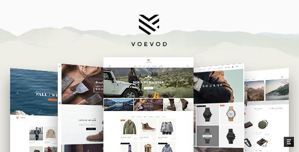 Voevod - قالب فروشگاهی نوشیدنی ها