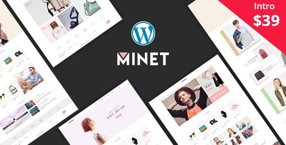 Minet - قالب وردپرس فروشگاهی مینیمال