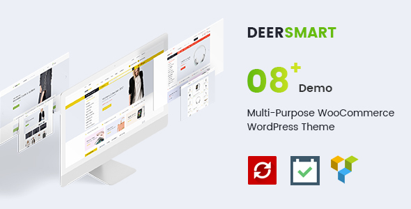 قالب DeerSmart - قالب فروشگاهی وردپرس چند منظوره
