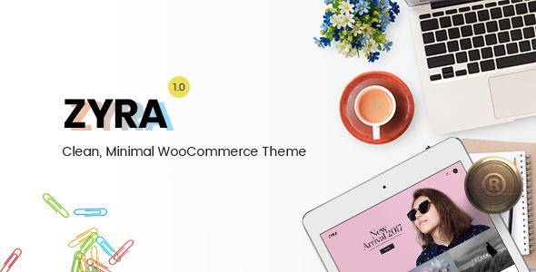 زیرا | Zyra - قالب فروشگاهی ساده