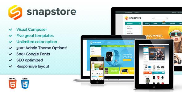 قالب Snapstore - قالب فروشگاهی حرفه ای وردپرس