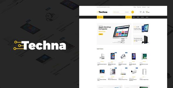 قالب Techna - قالب وردپرس فروشگاه الکترونیک