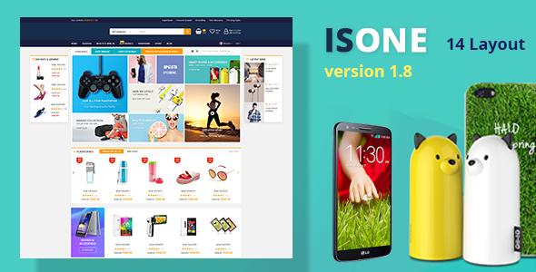 قالب IsOne Store - قالب ووکامرس راستچین برای دیجیتال