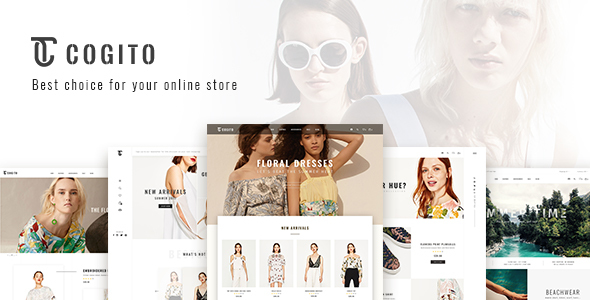 قالب Cogito - قالب فروشگاهی ساده