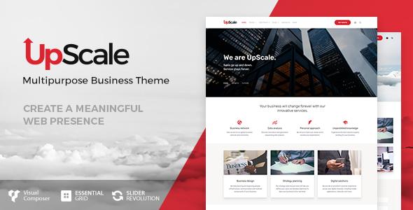قالب UpScale - قالب کسب و کار وردپرس