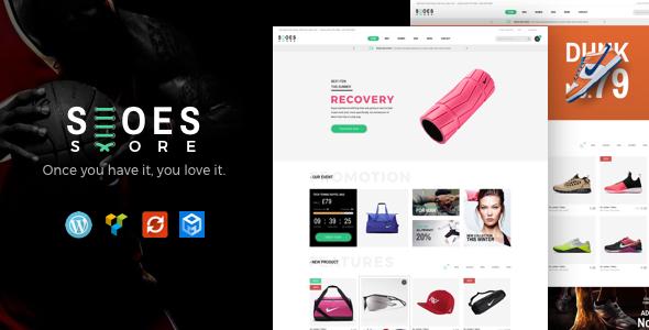قالب Trueshoes - قالب وردپرس فروشگاهی