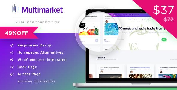 Multimarket - قالب فروشگاهی