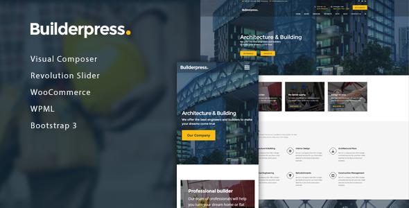 قالب BuilderPress - قالب وردپرس ساخت و ساز ساختمان