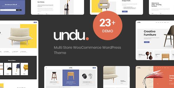 قالب Undu - قالب وردپرس چند فروشگاهی ووکامرس