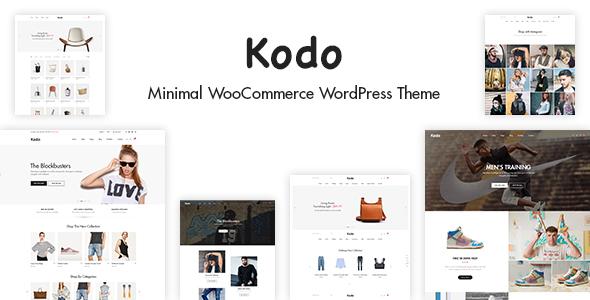 قالب Kodo - قالب فروشگاهی مینیمال