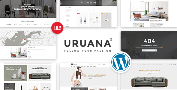 Uruana - قالب وردپرس فروشگاه چند منظوره