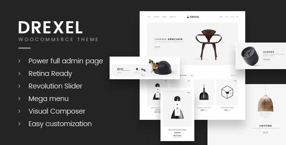 قالب Drexel - قالب فروشگاه مبل وردپرس