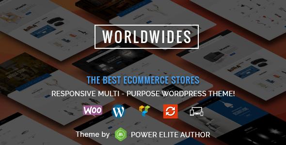 WorldWides - قالب ووکامرس چند منظوره
