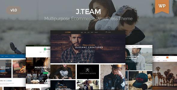 قالب J.Team - قالب فروشگاه جهانی