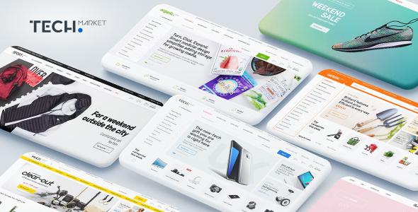 قالب تج مارکت | Techmarket - قالب فروشگاهی وردپرس