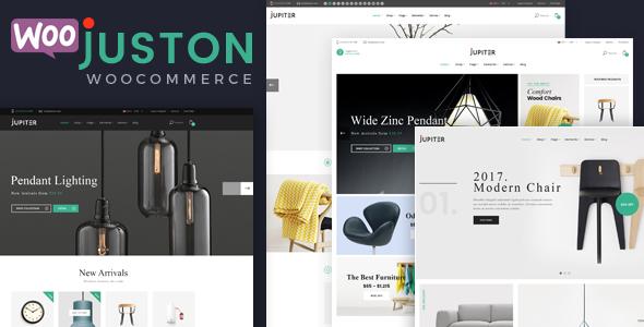 قالب Juston - قالب فروشگاه مبل وردپرس
