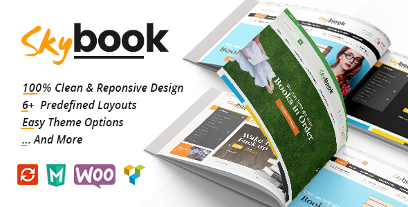 اسکای بوک | VG Skybook - قالب وردپرس فروش کتاب و کتاب الکترونیکی