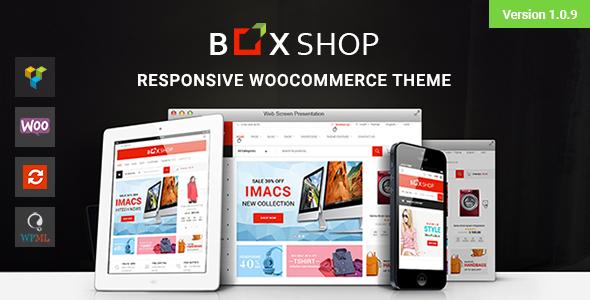 قالب BoxShop - قالب وردپرس فروشگاهی