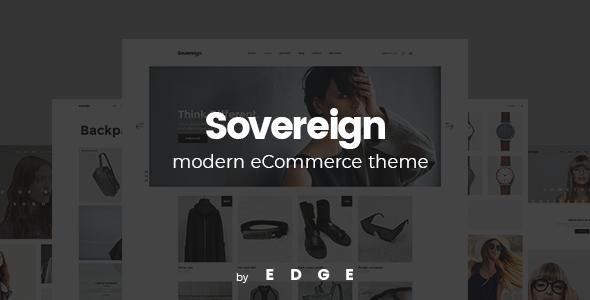 قالب Sovereign - قالب وردپرس سایت فروشگاهی مدرن