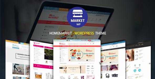 HomeMarket - قالب فروشگاهی وردپرس برای ووکامرس