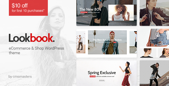 قالب Lookbook - قالب وردپرس فروشگاه لباس و مد