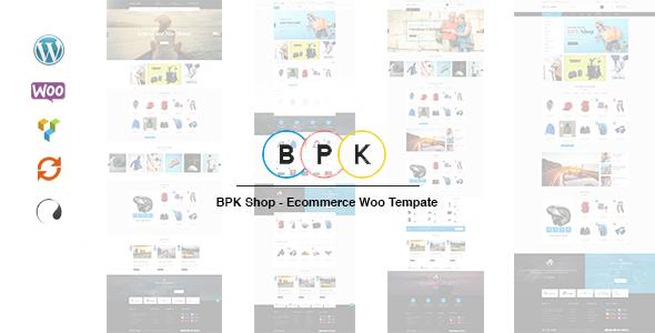 قالب BPK Shop - قالب وردپرس ووکامرس