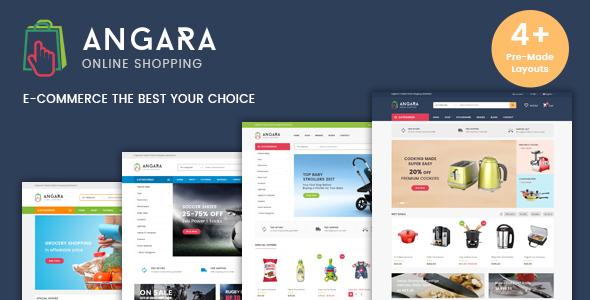 قالب Angara - قالب وردپرس فروشگاهی
