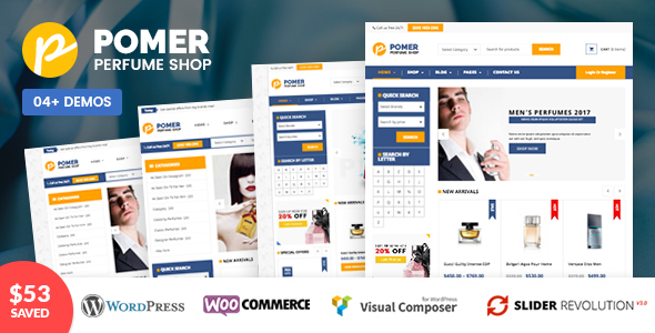 قالب پومر | VG Pomer - قالب فروشگاهی وردپرس