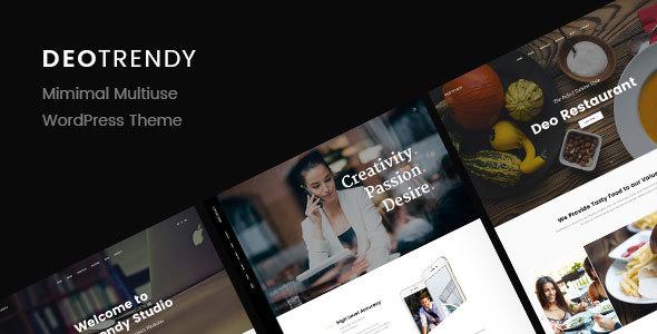قالب DeoTrendy - قالب وردپرس چند مفهومی خلاقانه