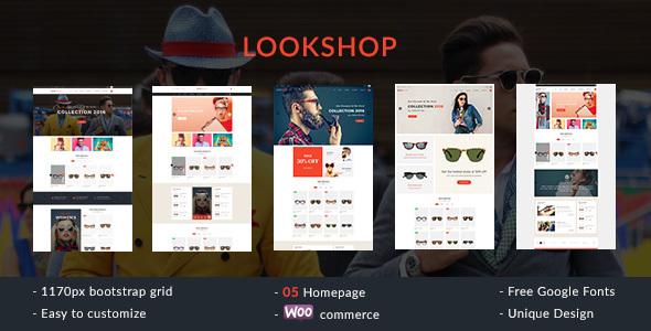 قالب Lookshop - قالب وردپرس فروشگاهی