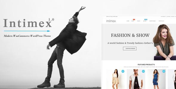 Intimex - قالب فروشگاهی مدرن برای وردپرس