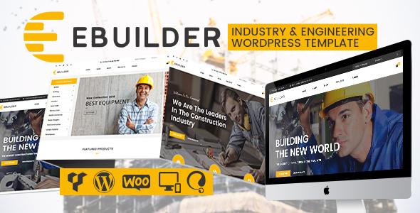 قالب VG eBuilder - قالب وردپرس ساختمان سازی