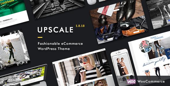 قالب Upscale - قالب وردپرس فروشگاه مد روز