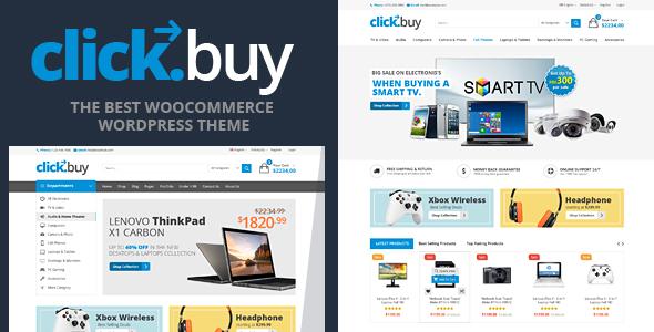قالب کلیک بای | Clickbuy - قالب فروشگاهی