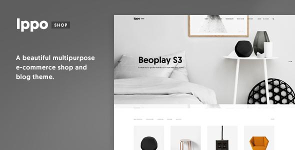 قالب Ippo Shop - قالب وردپرس فروشگاهی مینیمال