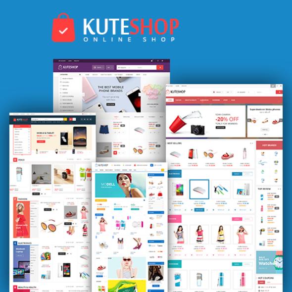 قالب کات شاپ | Kute Shop - قالب وردپرس فروشگاهی سوپر مارکت