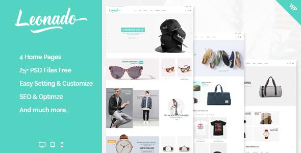 Leonado - قالب فروشگاهی وردپرس چند منظوره