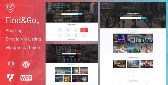 قالب فایندگو | Findgo - قالب وردپرس دایرکتوری و فهرست