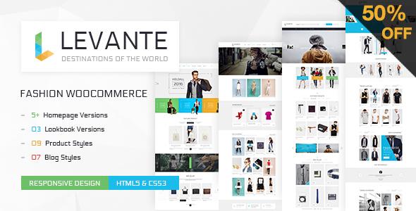 LEVANTE - قالب فروشگاهی ساده ووکامرس