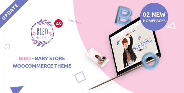 قالب Bibo - قالب وردپرس فروشگاه بچه